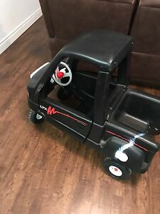 Little tikes black truck