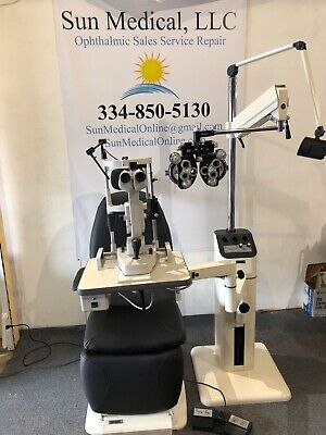 Reliance Fx920 Chair 7800 Stand Topcon Sl D2 With Tonometer Phoropter