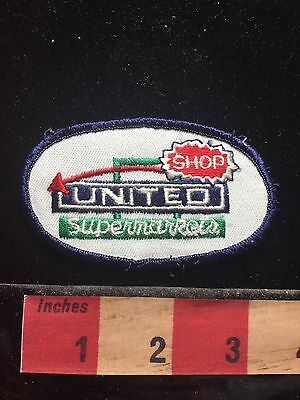 Shop UNITED SUPERMARKET Advertising Company Patch Grocery Store - Party Supermarket