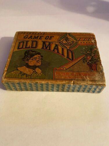 OLD ANTIQUE VINTAGE Old Maid Peter G. Thomson 1800
