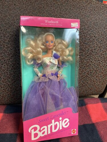 1992 Sweet Lavender Barbie Woolworth Special Limited Edition - $19.40