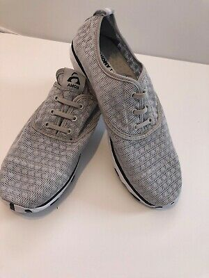 Amoji light gray womens shoes lightweight Size 44