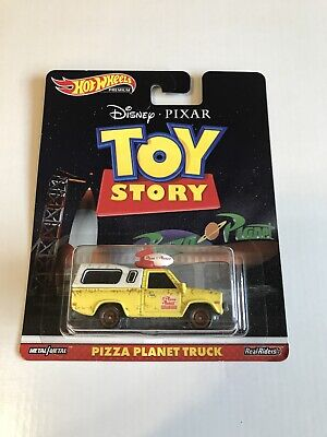 2019 HOT WHEELS RETRO ENTERTAINMENT SERIES TOY STORY PIZZA PLANET TRUCK