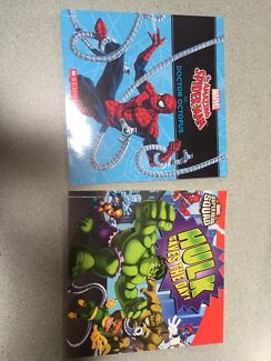 Spider man and hulk books