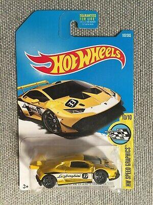 Hot Wheels Lamborghini Huracan LP 620-2 Super Trofeo #107/365 NIP