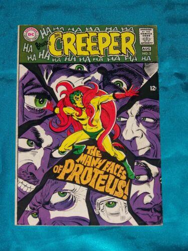 BEWARE THE CREEPER! # 2, Aug. 1968, STEVE DITKO ART, FINE / VERY FINE Condition