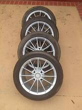 "16"" BSA Mag Wheels + Great Tyres! (4x114.3) Carina Heights Brisbane South East Preview"