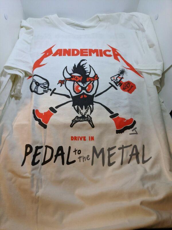 Metallica Pandemica Drive In Concert Tour Shirt 2XL Official Merch New BR7