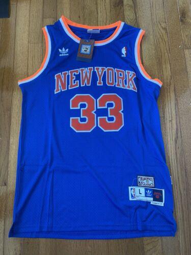 Patrick Ewing New York Knicks Adidas Blue Swingman Jersey Me