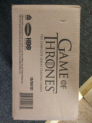 Game Of Thrones Complete Series Trading Cards Factory Sealed Case Rittenhouse
