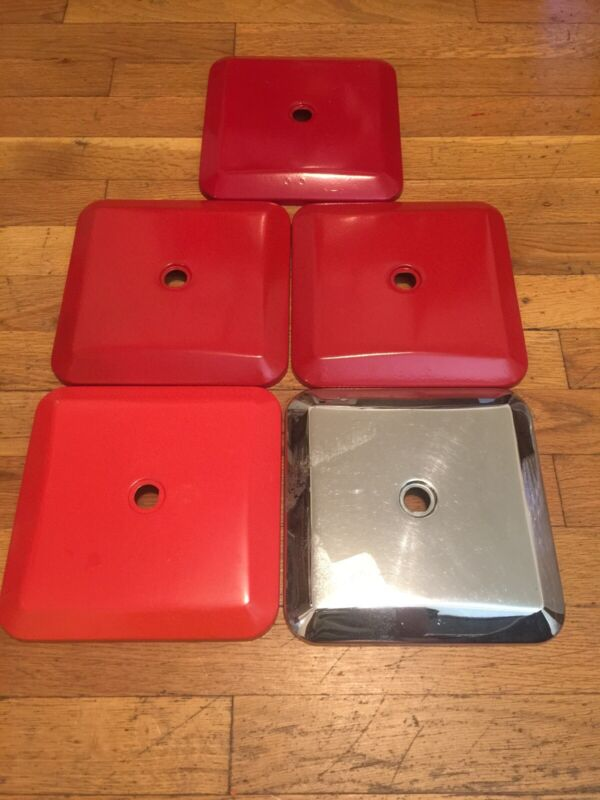 Northwestern Super 60 vending machine Lids Lot Of 5
