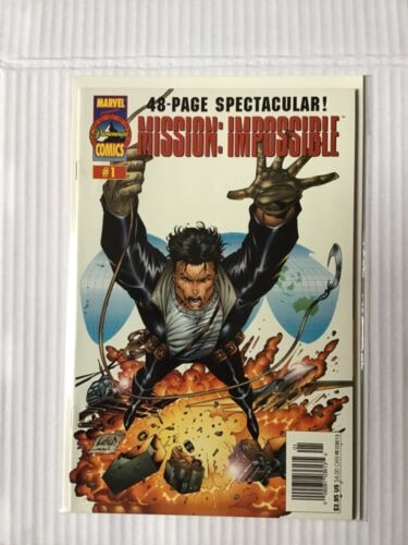 MISSION IMPOSSIBLE # 1 RECALLED EDITION FIRST PRINT MARVEL COMICS
