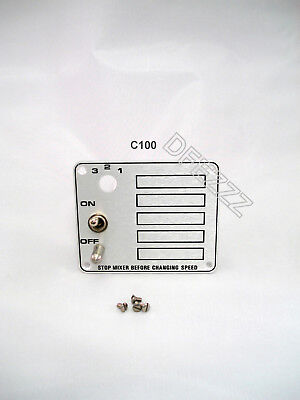 Hobart Mixer On Off Switch Shifter Plate Wsafety For C100 10 Qt 00-291735