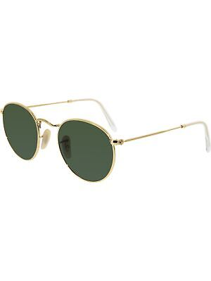 Ray Ban Womens Icons Rb3447 001 47 Gold Round Sunglasses