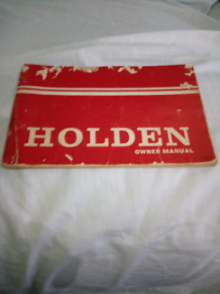 Hq holden owners manual