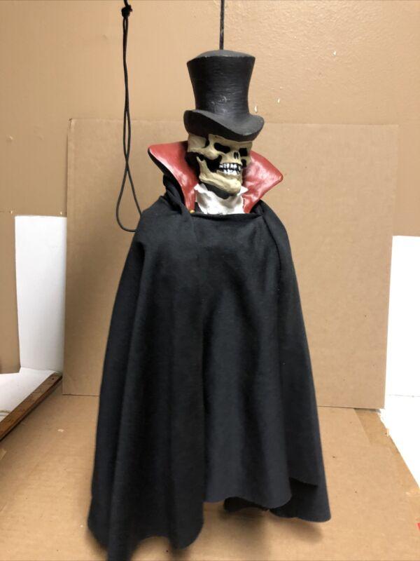 Vintage Paper Magic Group Halloween Decoration Grim Skeleton hanging
