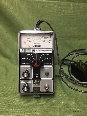 Bicron Surveyor Ms Radiation Survey Meter Great For Bench Top W Ac Adapter