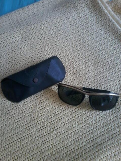 a4b6877338 Ray Ban Predator Olympian Gold Sunglasses