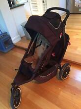 Phil and Teds Sport Stroller with Second Seat and Travel bag Summer Hill Ashfield Area Preview
