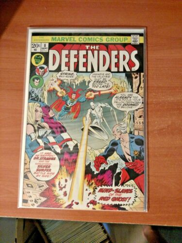 The Defenders #8 VF (1973)   Silver Surfer