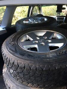 jeep wrangler wheels | Wheels, Tyres & Rims | Gumtree