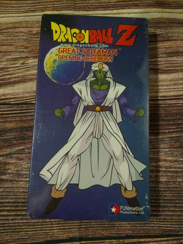 Dragon Ball Z - Great Saiyaman: Opening Ceremony (VHS, 2001, Edited) Brand New!