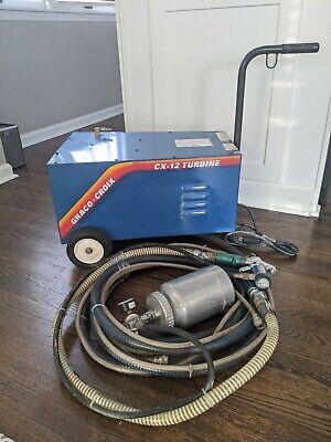 Hvlp Graco Croix Air Cx-12 Turbine Paint Sprayer With Turbine Compressor. Look
