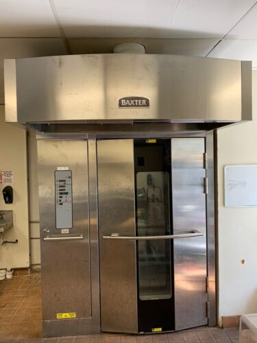 1-2015 BAXTER OV500G2EE DOUBLE RACK OVEN BRAND NEW NEVER USED
