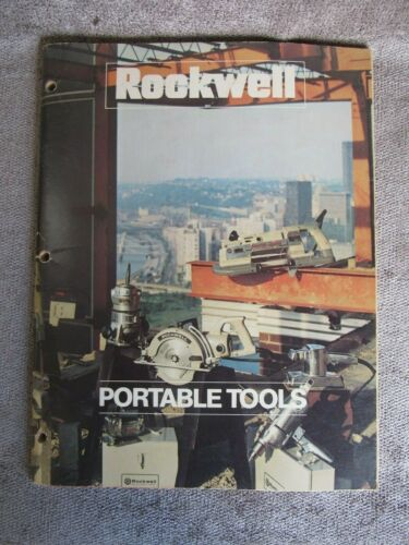 Vintage 1972 Rockwell Power Tools Catalog AD-227OR 8/72 7YT(17)