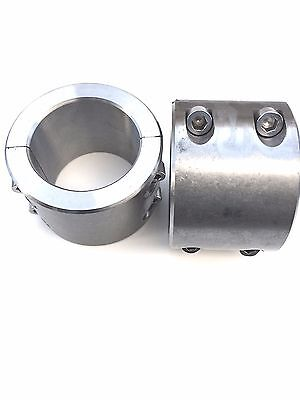 Jeep Roll Cages - 2 Steel bolt on tube clamps 1.75
