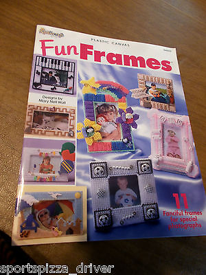 Fun Frames Plastic Canvas Leaflet The Needlecraft Shop #844509 - 11 Frames](Fun Frames)