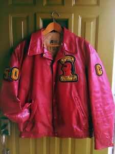 Vintage 1982 Varsity Football Captains Jacket