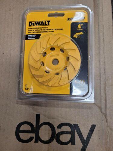 "DeWALT  XP TURBO DIAMOND CUP WHEEL DW4772T 4""   Free  Same Day Shipping!!!!"
