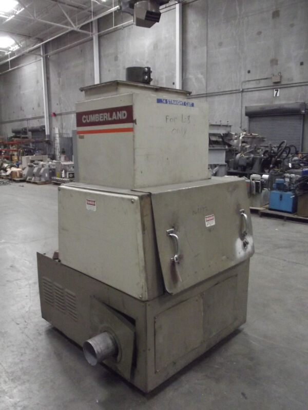 Cumberland Model 684 25 Hp Grinder / Granulator   Lot 004