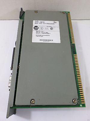 Used Allen Bradley 1772-lw D Mini Plc 217 Processor Rev 009