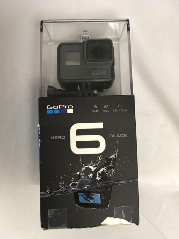 GoPro Hero 6-12MP 4K60 33FT WP (CHDHX—601)