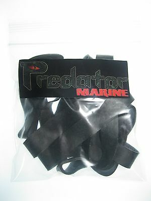 Large Heavy Duty Black Rubber bands #84 3-1/2
