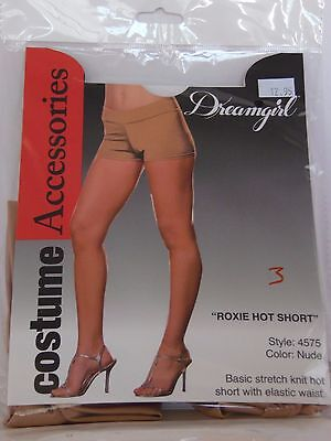 Adult Size S/M Nude Roxie Hot Short Pants Halloween Party Theater Costume 80's