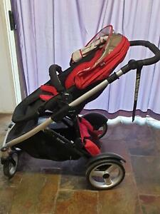 Steelcraft Strider Compact pram