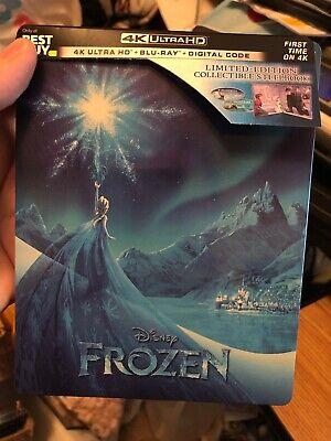 Frozen STEELBOOK Disney BEST BUY  (4k Ultra HD+Blu-Ray) No Digital