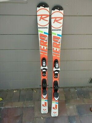 Rossignol HERO JR Skis 130 with bindings