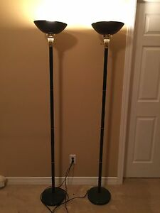 Set of 2 floor lamps New condition