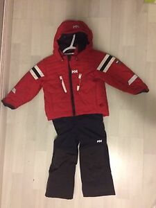 Size 2t Helly Hansen two pairs snowsuit