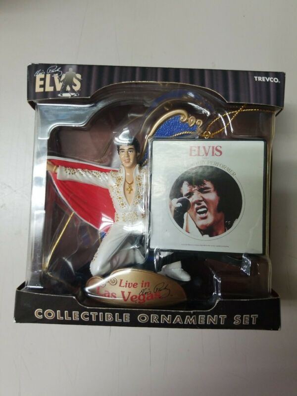 elvis presley ornament set