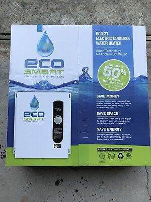 Ecosmart Electric Tankless Water Heater ECO27