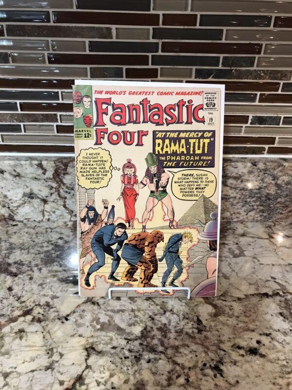 FANTASTIC FOUR #19 1st RAMA-TUT Kang Higher Silver Age Grade Key