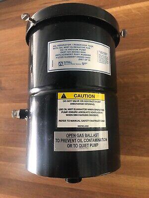 Tuthill Oil Separator Resevoir Tank For Kc-15 Vacum Pump Model 820064-000