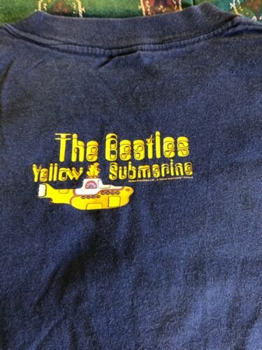 The Beatle Yellow Submarine Vintage T-Shirt ALL Sport  Made in USA size Large