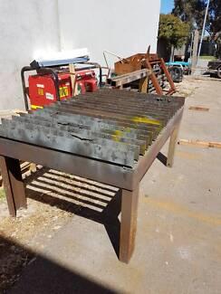 oxy cutting Work bench