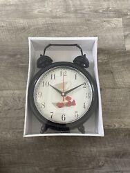 Decorative Desk Clock,Vintage Metal Design Table Clock,Desk Clock